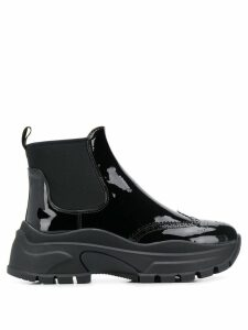 Prada trainer ankle boots - Black