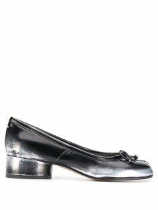 Maison Margiela low heel tabi pumps - Black