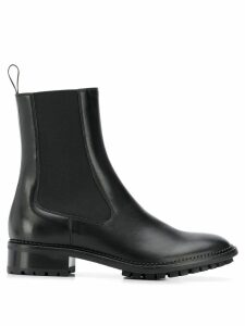 L'Autre Chose ridged sole Chelsea boots - Black