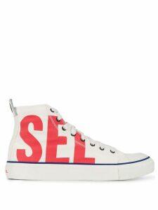 Diesel high-top sneakers - White