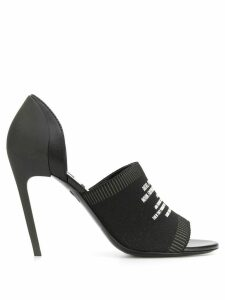 Diesel knit pumps - Black