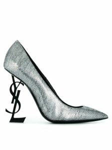 Saint Laurent Opyum pumps - SILVER