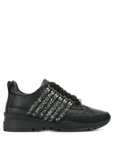 Dsquared2 251 glitter sneakers - Black