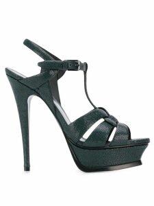 Saint Laurent Tribute 105 sandals - Green
