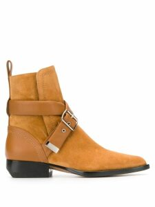 Chloé Rylee buckle boots - Brown