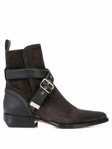 Chloé buckle strap boots - Black