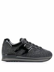 Hogan H222 glitter sneakers - Black