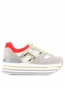 Hogan maxi H222 sneakers - White