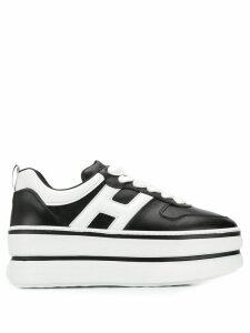 Hogan flatform sneakers - Black