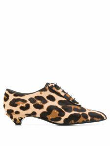 Laurence Dacade leopard print pump - NEUTRALS