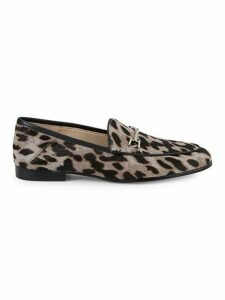 Loraine Calf-Hair Bit Loafers