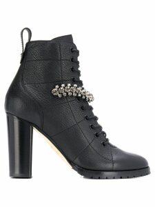 Jimmy Choo Cruz 95 ankle boots - Black