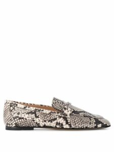 Tod's snake effect loafers - Black