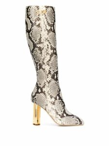 Dsquared2 snakeskin effect boots - Neutrals
