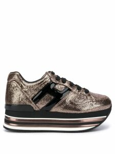 Hogan Maxi H222 sneakers - Gold