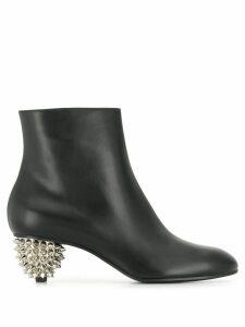 Alexander McQueen spiked heel ankle boots - Black
