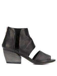 Officine Creative Blanc/013 zipped sandals - Black