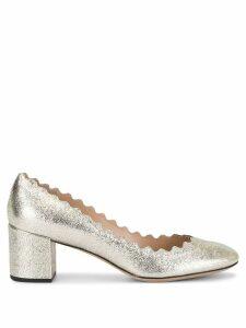 Chloé Lauren pumps - GOLD