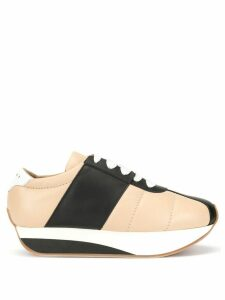 Marni Bigfoot platform sneakers - Brown