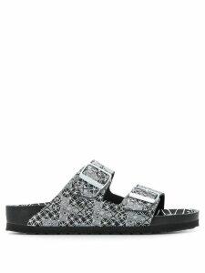 Birkenstock Arizona optic print sandals - Black