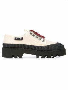 Proenza Schouler Lug Sole Shoes - Natural