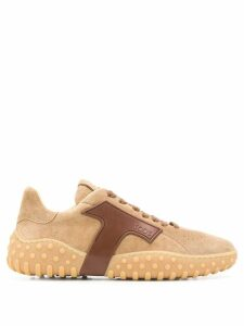 Tod's lace up sneakers - Brown