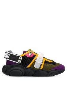 Moschino colour-block sneakers - Black