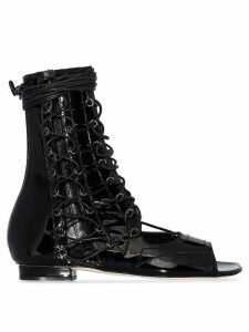 Liudmila Drury Lane lace-up sandals - Black