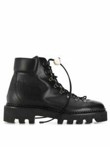 Nicholas Kirkwood Delfi hiking boots - Black