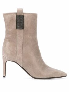 Brunello Cucinelli City boots - Grey