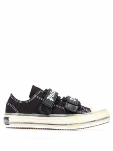Palm Angels velcro fastening sneakers - Black