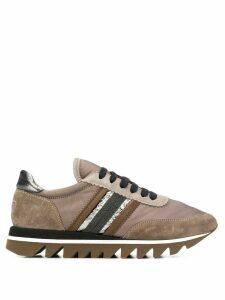 Brunello Cucinelli striped sneakers - Brown