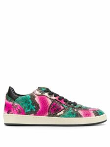 Philippe Model lace up sneakers - Green