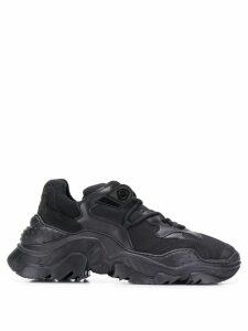Nº21 oversized sole Billy sneakers - Black