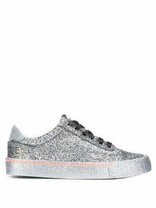 Diesel low glitter sneakers - Silver