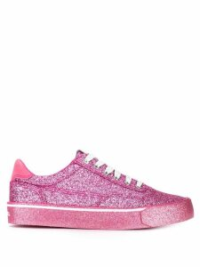 Diesel low-top glitter sneakers - Pink