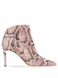 Giuseppe Zanotti snake print boots - Pink