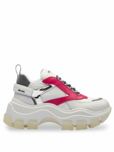 Prada Block low top sneakers - White