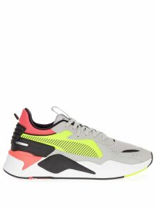 Puma colour blocked sneakers - White