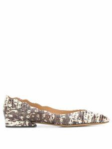 Chloé Lauren ballerina shoes - Grey