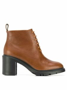 Camper Whitnee boots - Brown