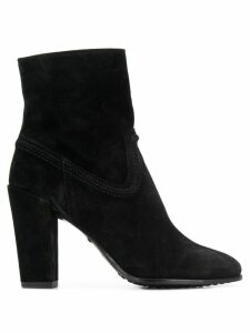 Tod's classic ankle boots - Black