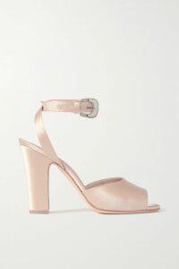 adidas Originals - Yung-1 Neon Suede And Mesh Sneakers - Black
