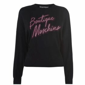 Boutique Moschino Crew Neck Sweater