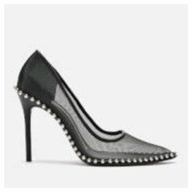 Alexander Wang Women's Rie Mesh Court Shoes - Black