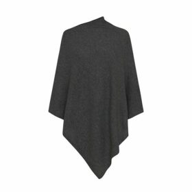 Care By Me Lena Poncho Dark Grey