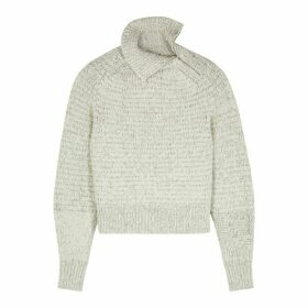 Isabel Marant Effy Stone Wool-blend Jumper