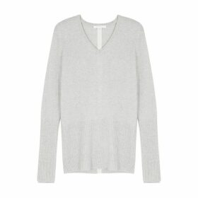 Duffy Grey Cashmere Jumper