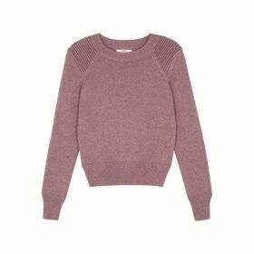 Isabel Marant Étoile Kleeza Pink Cotton-blend Jumper