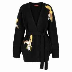 Altuzarra Jareth Embroidered Wool-blend Cardigan